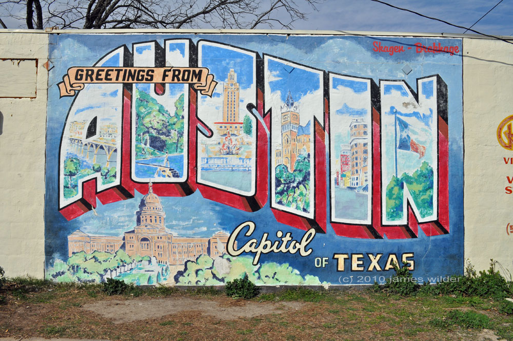 The only place to find a things to do in austin resource for Austin mural location